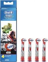 Oral-B Kids Star Wars - 4 stuks - Opzetborstels