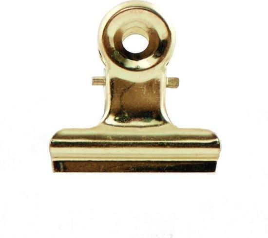 House Doctor Metalen klemmetje goud 3 centimeter