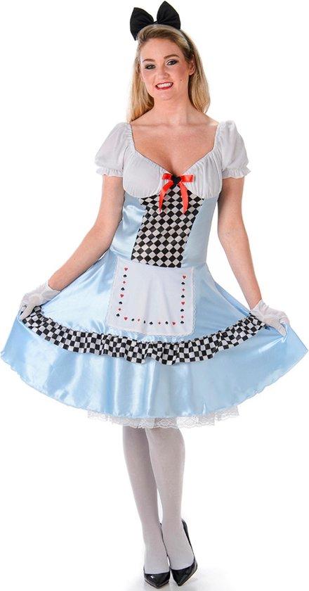 Sexy Alice in Wonderland Kostuum Dames - Maat M