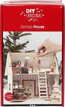 Set voor het huis van de Kerstman, 1 set