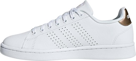 adidas Advantage Sneakers Dames - White - Maat 40