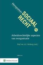 Monografieen sociaal recht 31 -   Arbeidsrechtelijke aspecten van reorganisatie