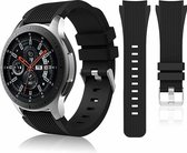 Samsung Galaxy Watch silicone bandje (zwart) - 46mm
