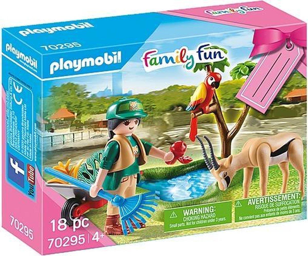 """PLAYMOBIL Cadeauset """"Zoo"""" - 70295"""