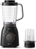 Philips HR2157/93 Viva Blender - 600 Watt - 1,5L - IJscrusher - Tritan Kan - Zwart