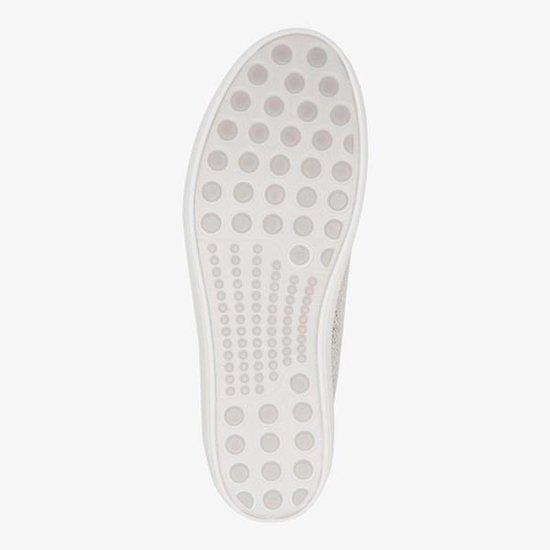 Natuform leren dames sneakers met slangenprint LA2Z5en2