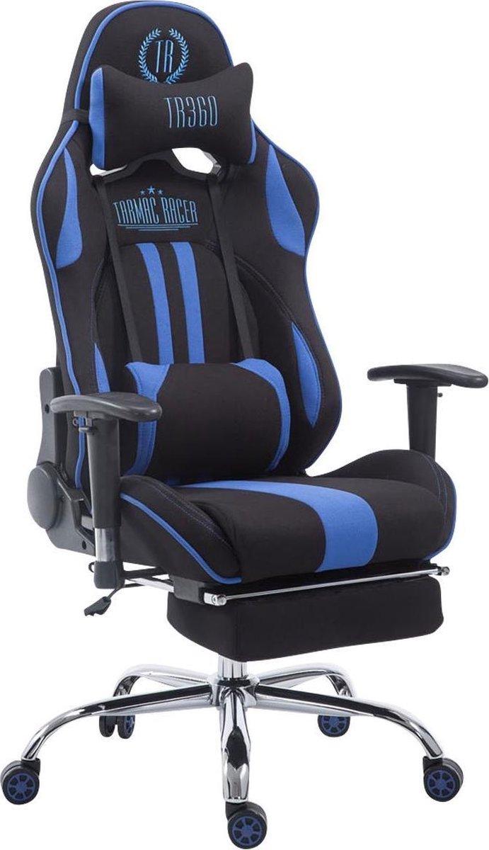 Clp Limit V2 Bureaustoel - Stof - Zwart/blauw - Met voetsteun