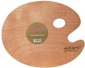 Mont Marte houten schilderspalet Large - 38x30cm