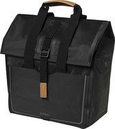 Basil Urban Dry Shopper Enkele Fietstas - 20 liter - Matt black