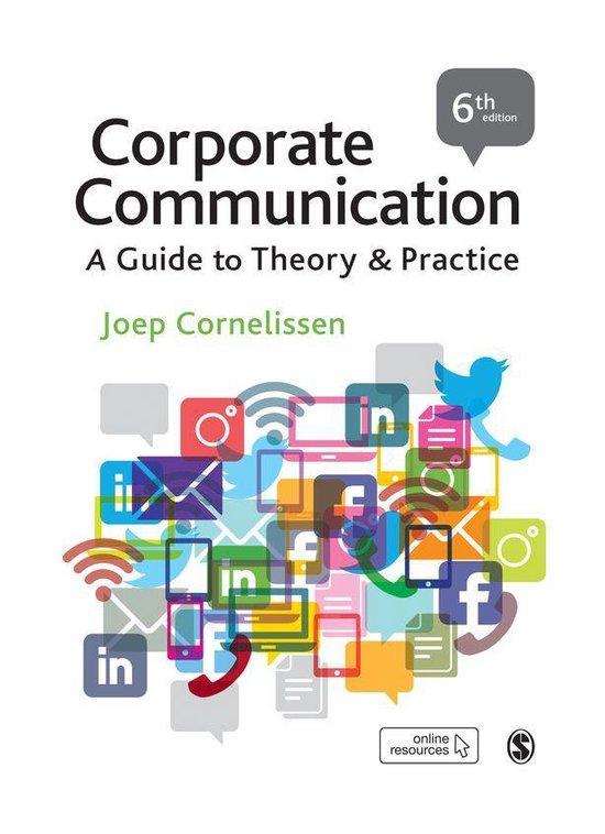Boek cover Corporate Communication van Joep P. Cornelissen (Onbekend)