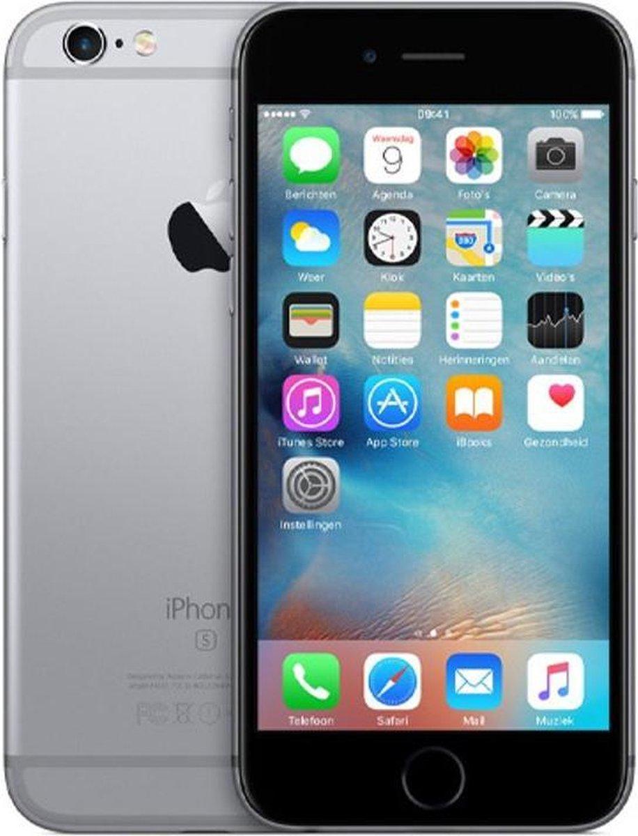 Apple iPhone 6S - Refurbished door Mr.@ - A grade (Zo goed als nieuw) - 128GB - Spacegrijs