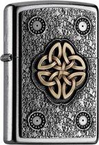 Aansteker Zippo Celtic Knot Emblem