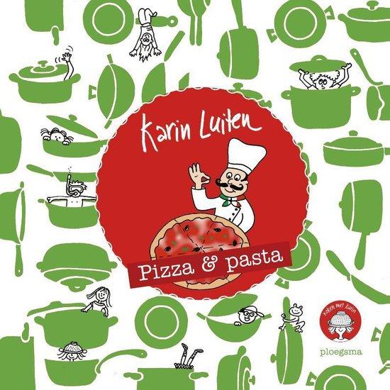 Kinderkookboek Pizza en Pasta, 14 recepten – Koken met Karin