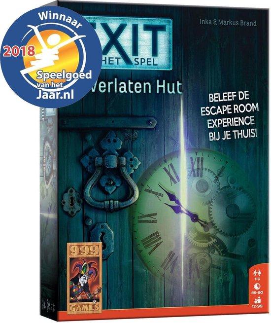 Exit – De Verlaten Hut – Spel;Spel (8719214422608)