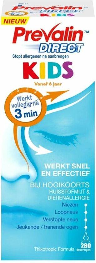 Prevalin Direct Kids - Hooikoorts neusspray - effectief tegen de eerste symptomen van hooikoorts - hooikoorts kinderen