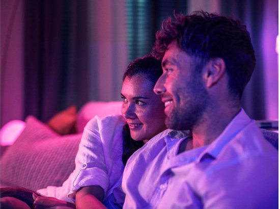 Philips Hue Play Gradient Lightstrip - White and Color Ambiance - ledstrip - 65 inch