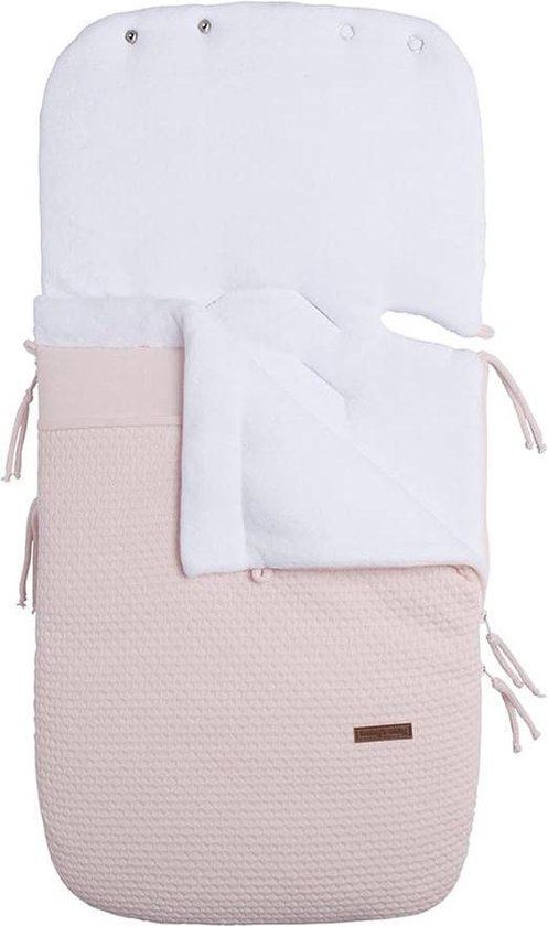 Product: Baby's Only Voetenzak autostoel 0+ Cloud - classic roze, van het merk Baby's Only