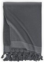 Walra Hamamdoek Soft Cotton - Antraciet - 100x180