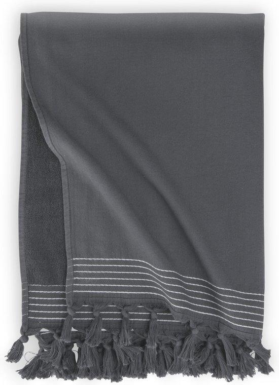 Walra Hamamdoek Soft Cotton - 100x180 - 100% Katoen - Antraciet
