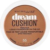 Maybelline Dream Cushion On-The-Go Liquid Foundation - 55 Caramel