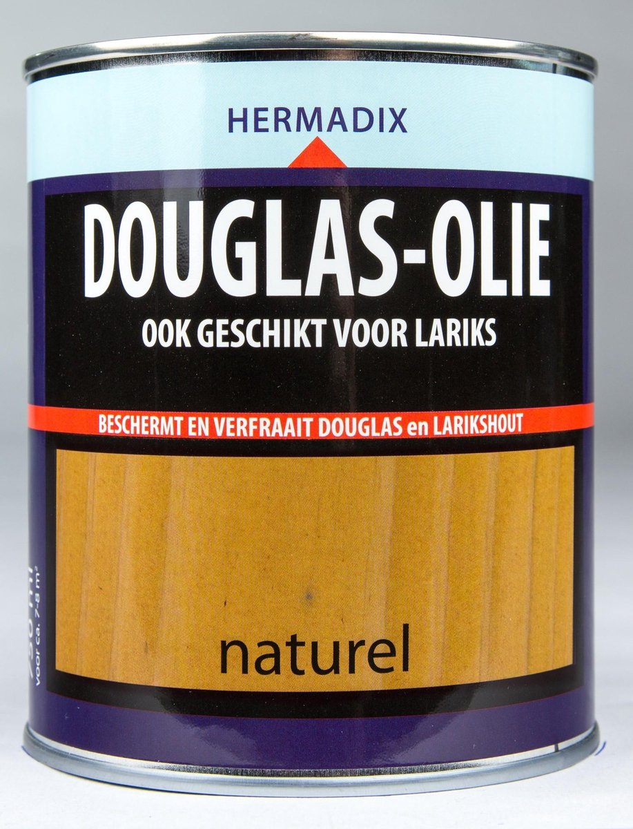 Hermadix Douglas Olie - Naturel - 0,75 liter