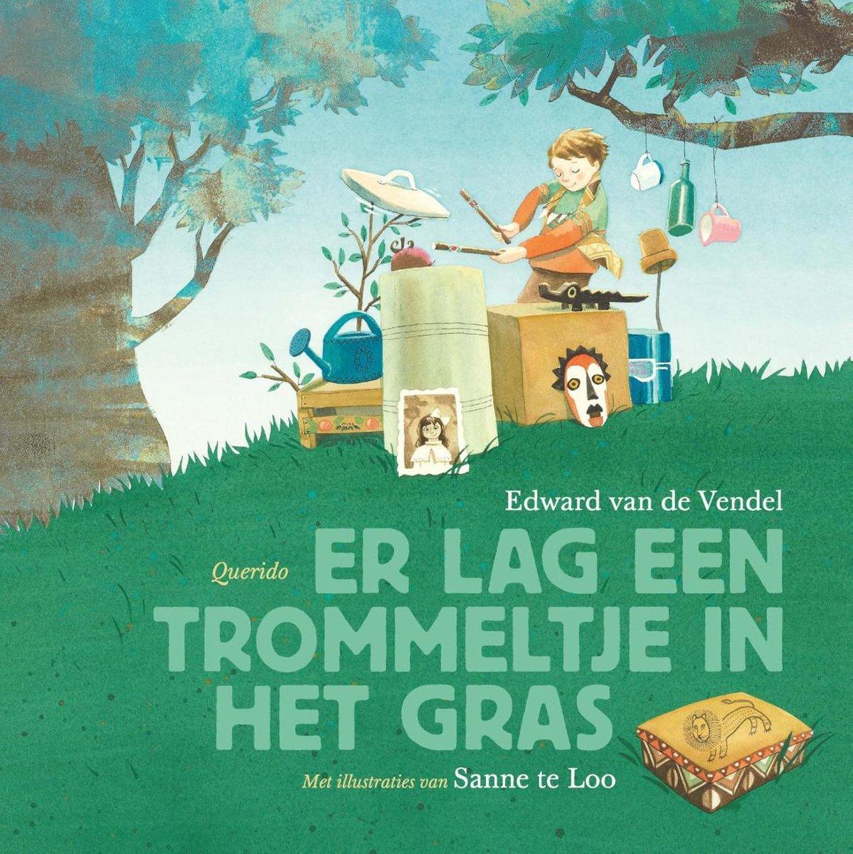 bol.com | Er lag een trommeltje in het gras, Edward van de Vendel | 9789045124889 | Boeken