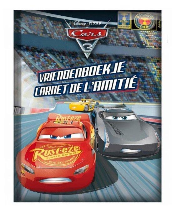 Boek - Vriendenboekje - Cars 3