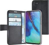 Azuri Motorola Moto G Pro hoesje - Walletcase - Zwart