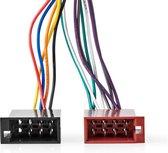 Nedis ISO adapter voor JVC autoradio - 0,15 meter - Zwart