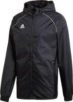 Adidas Core 18  Sportjas Heren - Black/White - Maat XL