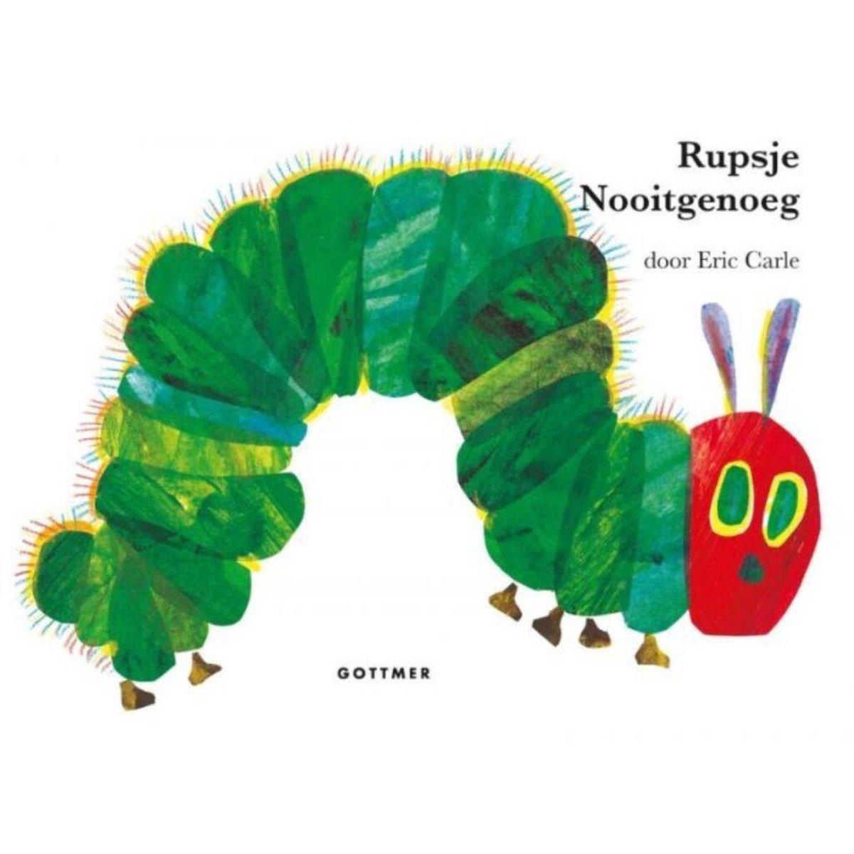 bol.com | Rupsje Nooitgenoeg - Rupsje Nooitgenoeg, Eric Carle |  9789025755348 | Boeken