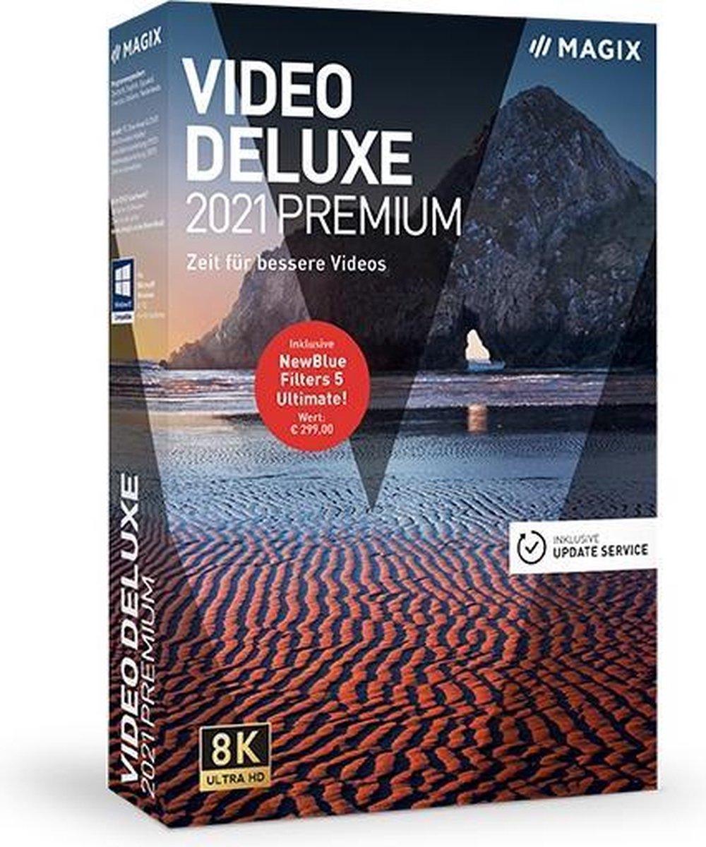 MAGIX Video Deluxe Premium 2021 - Nederlands/ Engels/ Frans - Windows download kopen