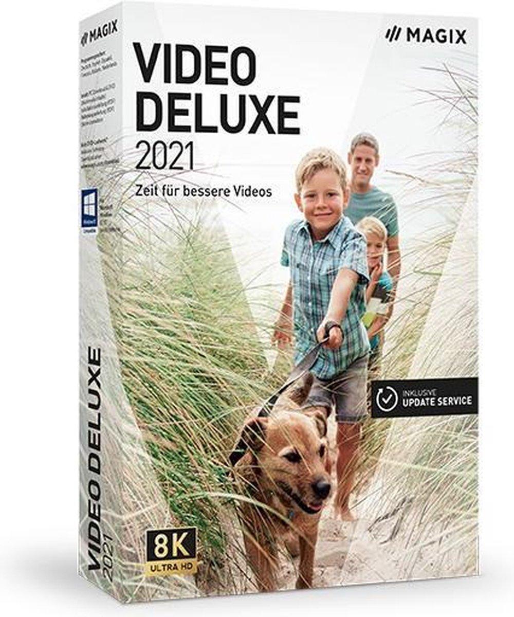 MAGIX Video Deluxe 2021 - Nederlands/ Engels/ Frans - Windows download kopen