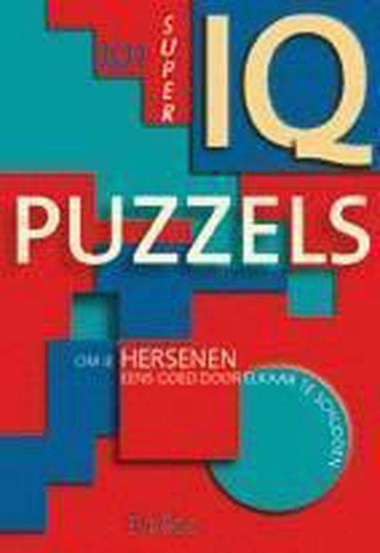 Cover van het boek '101 super IQ puzzels' van Son Tyberg