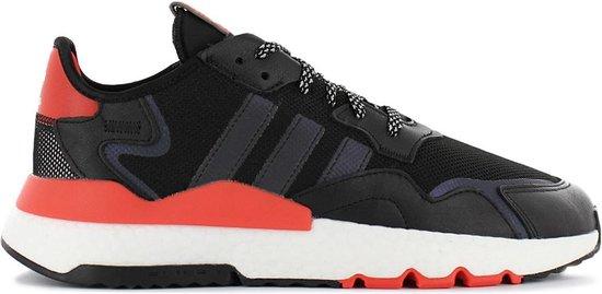 adidas Originals Nite Jogger Boost - Heren Sneakers Sport Casual Schoenen Zwart EG6750 - Maat EU 42 UK 8