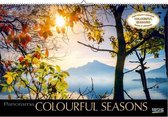 Comello Wandkalender Colourful Seasons 39 X 58 Cm Papier