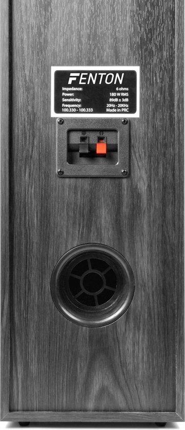 SkyTronic 5.1 home cinema surround speakerset 1300W met 10 inch subwoofer