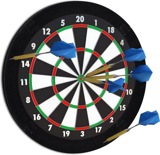 Afbeelding van het spel Relaxdays Dartbord beschermring voor aan de muur
