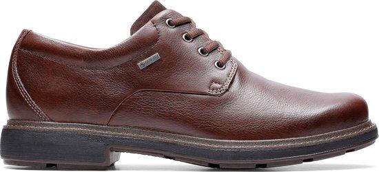 Clarks - Herenschoenen - Un TreadLoGTX2 - G - dark brown leather - maat 9,5