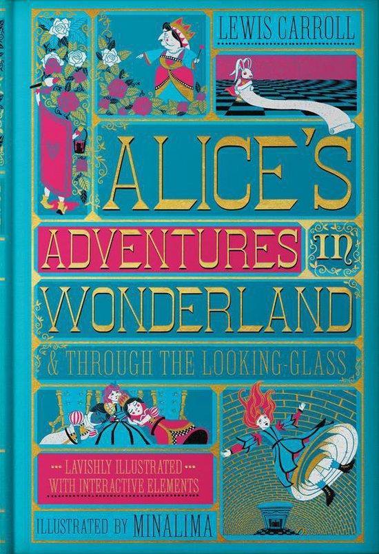 Boek cover Alices Adventures in Wonderland (MinaLima Edition) van Lewis Carroll (Hardcover)