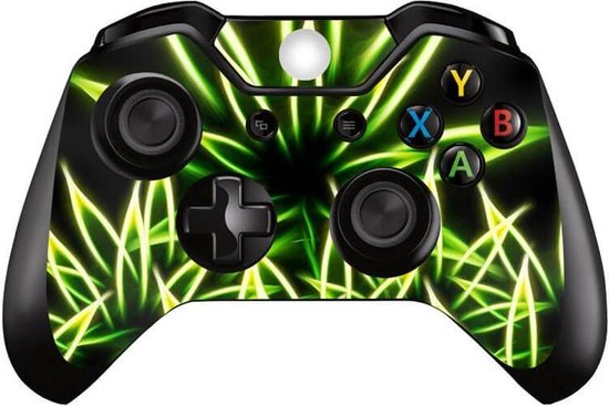 Glowing weed – Xbox One controller skin