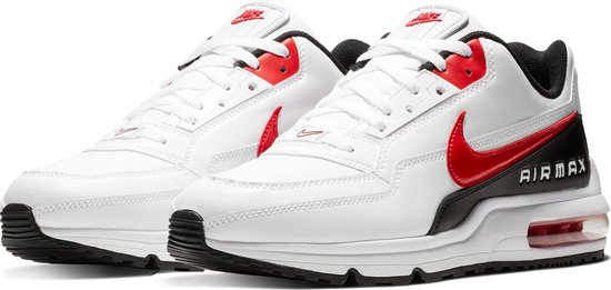 Nike Air Max LTD 3 Heren Sneakers - White/Univ Red-Black - Maat 44.5