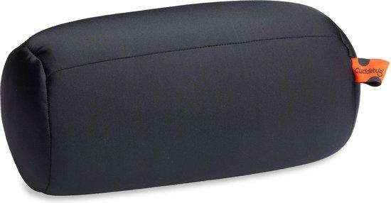 Cuddlebug kussen - zwart XL - Nekkussen (reizen) - zwart