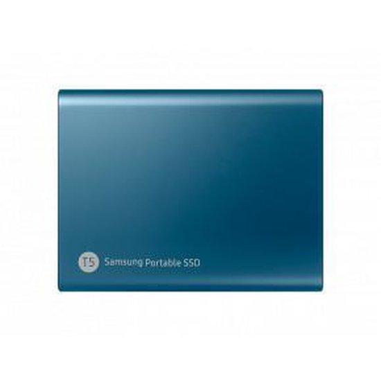Samsung T5 500GB Externe SSD - Blauw