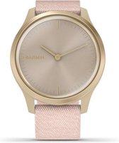 Garmin Vivomove Style - Smartwatch - 42 mm - Goud/licht roze