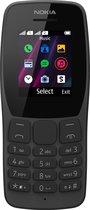 Nokia 110 - Dual Sim - 4MB - Zwart