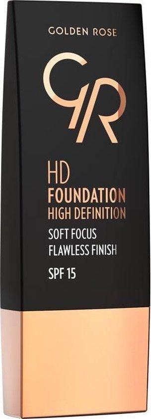Golden Rose HD Foundation High Definition 103 ALMOND
