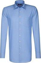 Seidensticker overhemd modern fit ML7 blauw, maat 40