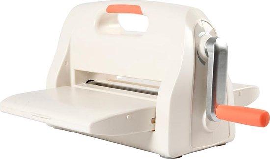 Afbeelding van Creotime Stans- En Embossingmachine A4 41 Cm Wit/oranje speelgoed
