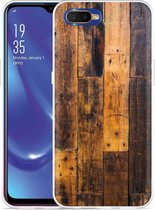 Oppo RX17 Neo Hoesje Special Wood